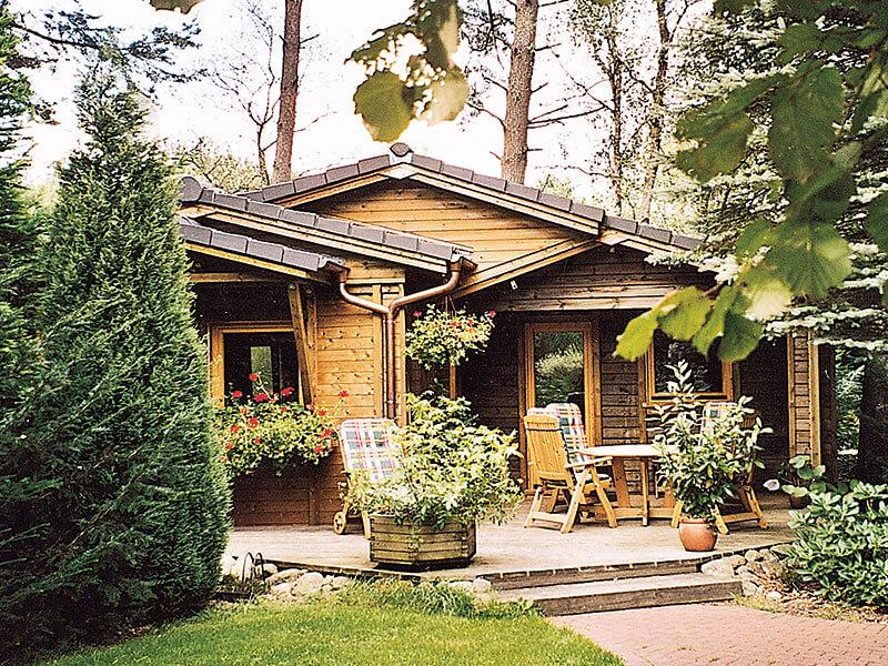 Kleines Holzhaus Ferienpark Leitzingen Urlaub In Der